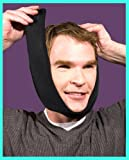 Face Caddy, Hot and Cold Therapy Wrap (Black), includes 2 reusable hot/cold gel packs.