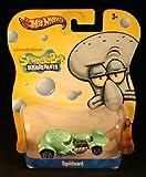 Squidward Hot Wheels Spongebob Squarepants DIE Cast Vehicle Car Nickelodeon Y0760