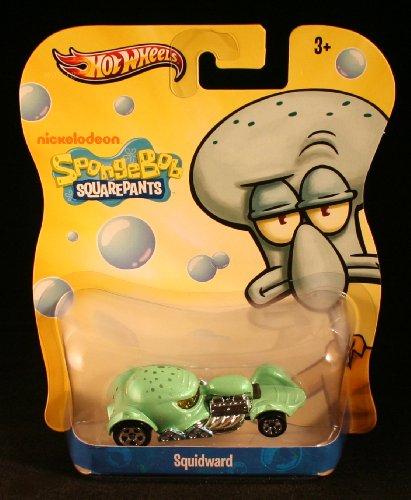 Squidward Hot Wheels Spongebob Squarepants DIE Cast Vehicle Car Nickelodeon Y0760 - 1