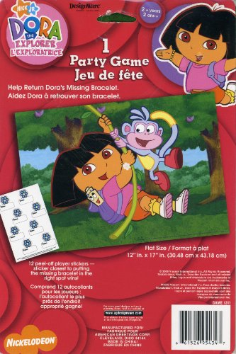 Dora the Explorer Party Game Poster (1ct) - 1