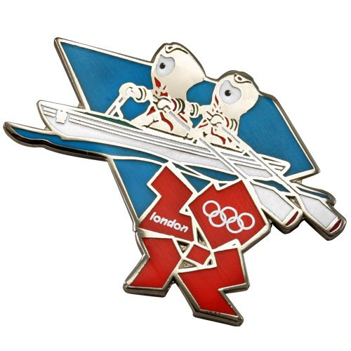 Olympics London 2012 Olympics Mascot Rowing Pin
