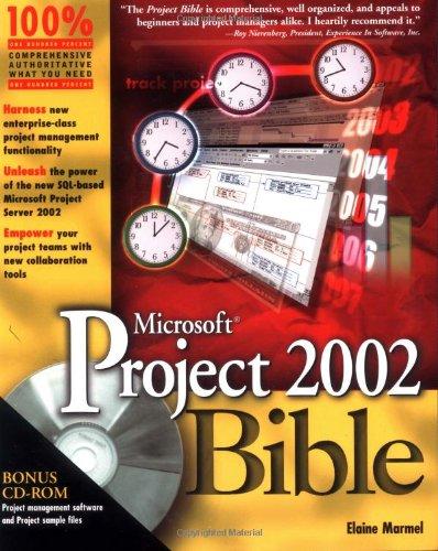 Microsoft Project 2002 Bible