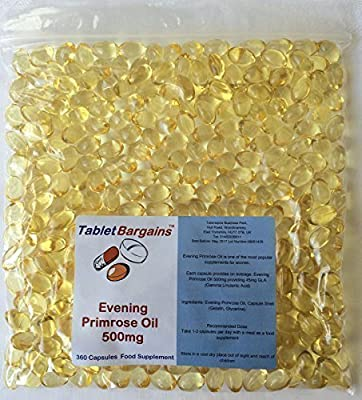 Tablet Bargains - Evening Primrose Oil 500mg - 360 Capsules by Club Vits Ltd
