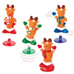 Reindeer Jump-Ups (Pack of 4)