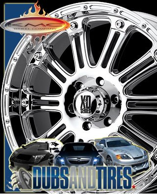 XD Series Hoss (Series XD795) Chrome - 22 x 9.5 