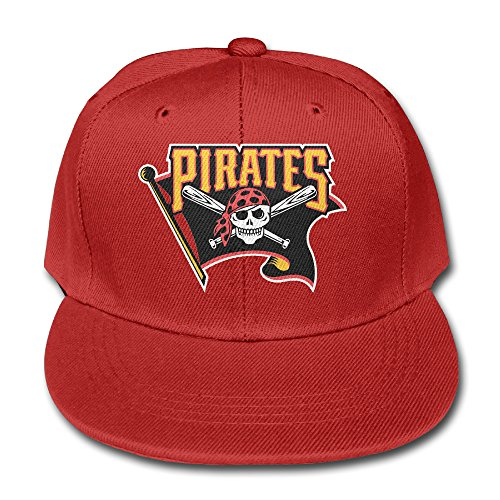 Gsyful Youth Children Girl Boy Kids Custom Cartoon Pittsburgh Pirates 1 Custom Unisex Adjustable Baseball 9FIFTY Snapback Hip Hop Dad Camp Cap Hat (Cartoon Pirate Hat)