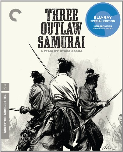 Cover art for  Three Outlaw Samurai (The Criterion Collection) [Blu-ray]
