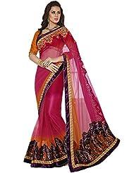 CSE Bazaar Women Indian Saree Beautiful Fancy Ethnic Cultural Party Wear Sari - B00SO6OW7Y