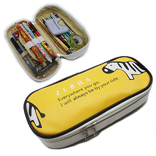 artone-zebre-grande-capacite-trousses-papeterie-pounch-cosmetique-sac-jaune