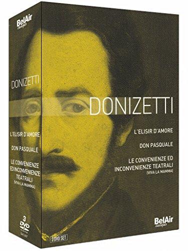 Donizetti - L'Elisir d'Amore/Don Pasquale/Viva La Mamma [3 DVDs]
