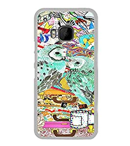ifasho Designer Phone Back Case Cover HTC One M9 :: HTC One M9S :: HTC M9 ( Pink Tiger Print )