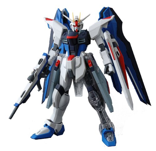 Gundam ZGMF-X10A Freedom Gundam with Extra Clear Body parts MG 1/100 Scale