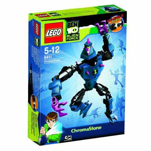 Lego Ben 10 Alien Force 8411 Chromastone Picture
