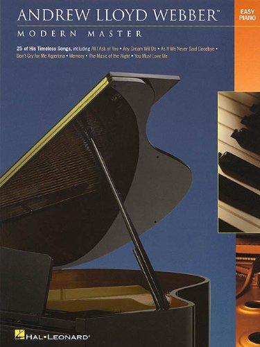 Andrew Lloyd Webber Modern Master Easy Piano