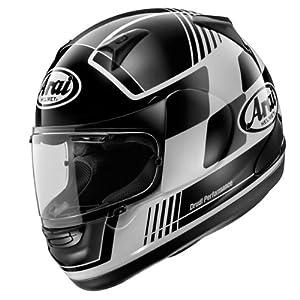 Arai Signet-Q Racer Black Full Face Helmet - X-Large