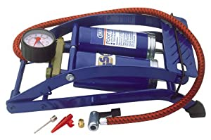 Draper 25996 Double-Cylinder Foot Pump