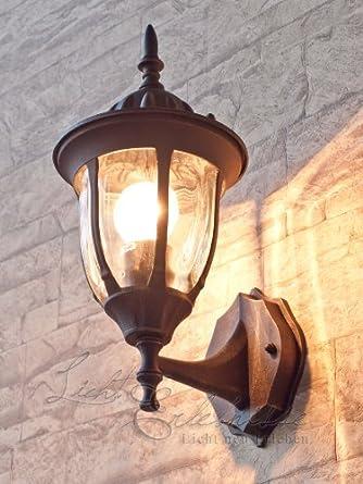 Applique Traditionnel Lampe Exterieure Lanterne Murale Debout Luminaire De Jardin Ip43 Or Antique 2 1 876 Shopfr31