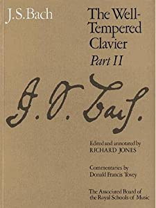 The Well-tempered Clavier Pt 2 Signature from Associated Board of the Royal Schools of Music