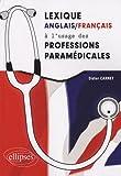 echange, troc Didier Carnet - Lexique anglais-français à l'usage des professions paramédicales