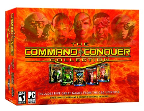 The Command And Conquer Collection - Pc back-662007