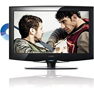 Coby LEDVD1996 19-Inch 720p 60Hz Widescreen LED HDTV with DVD Player (Black)