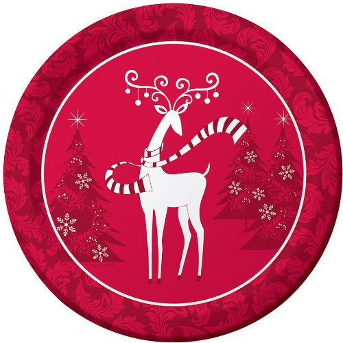 Dashing Prancer Banquet Plates
