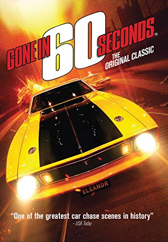 DVD : Gone In 60 Seconds (1974)