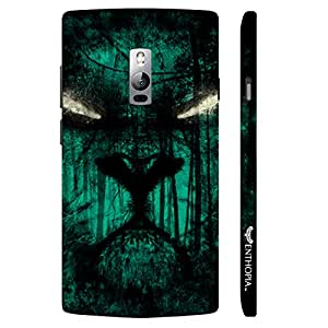 One Plus Two Scary eyes designer mobile hard shell case by Enthopia