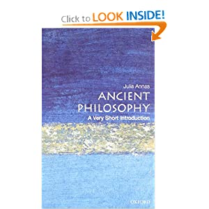 Ancient Philosophy: A Very Short Introduction Julia Annas