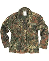 Genuine Vintage German Military Flecktarn Shirt / Lightweight Jacket