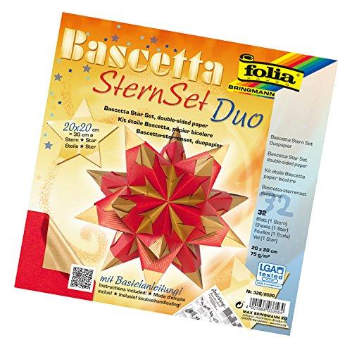 folia-326-2020-bastelset-bascetta-stern-duo-20-x-20-cm-32-blatt-rot-gold