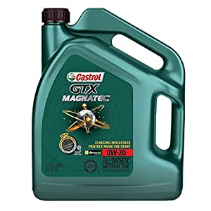 Castrol 03060 GTX Magnatec 0W-20 Motor Oil - 5 Quart from Castrol