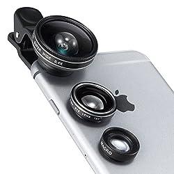 TaoTronics カメラレンズキット クリップ式 3点セット