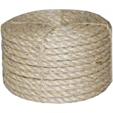 T.W . Evans Cordage 23-410 3/8-Inch by 100-Feet Twisted Sisal Rope