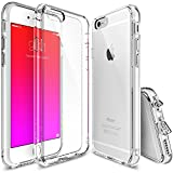 iPhone 6S Case, Ringke [Fusion] Crystal Clear PC Back TPU...