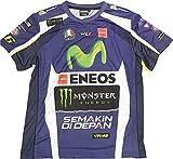 【 MOTO GP 】YAMAHA ファクトリー レーシング オフィシャルTシャツ バレンティーノ・ロッシ 2016 (L身幅57cm着丈70cm)