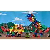 Rokenbok Mega-saurus Jumbo Building Block Set