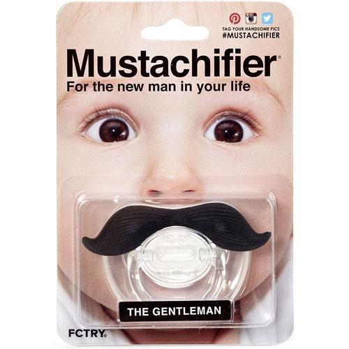 Mustachifier - The Gentleman Mustache Pacifier