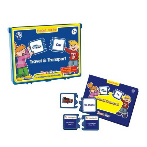 Tedcotoys Travel & Transport Kids Educational Science Activity Kit - 1