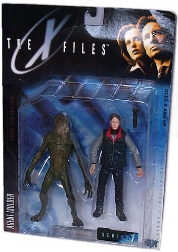 Picture of McFarlane The X-Files: Fight The Future Movie Agent Fox Mulder Action Figure with Cryopod Chamber and Human Host (B000MOS9XY) (McFarlane Action Figures)