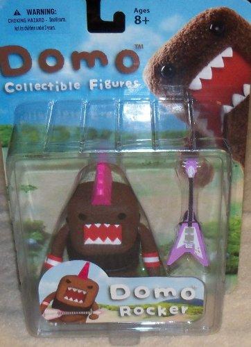 Domo Action Figure Series 01 - Punk Rocker Domo by Mezco Toyz - 1