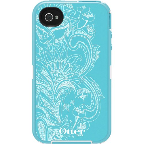 5b6388a12c1117 Reviews OtterBox Defender Series Case for iPhone 4 4S - Retail Packaging -  Eternality Collection - Celestial