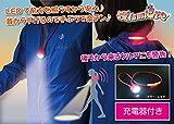 Amazon.co.jpLED2WAYナイトウォーキングネックライト 夜lumiere~ヨルミエール~ / カラー:レッド(赤)【ハンズフリー型懐中電灯、充電式】 …