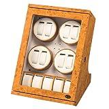 [ローテンシュラガー]LUHW ワインダー 濃茶木製 8本巻き LU-30008RW