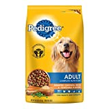 PEDIGREE Adult Roasted Chicken, Rice & Vegetable Flavor Dry Dog Food is formulated to give dogs all of the energy and nourishment they need to continue living life to the fullest. This chicken-flavor dog food is packed with B vitamins, zi...