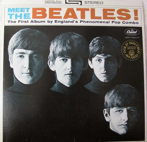 Original album cover of Meet The Beatles by The Beatles