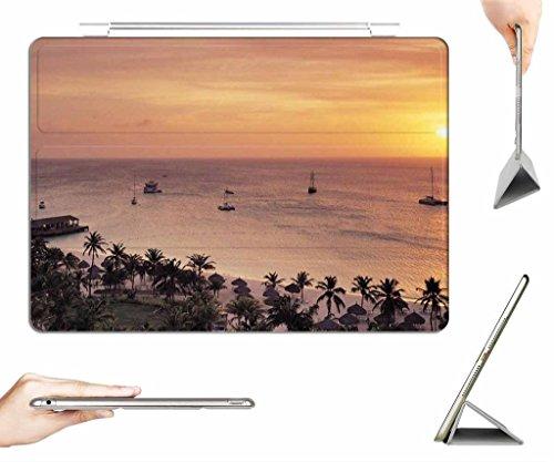 irocket-ipad-pro-129-case-transparent-back-cover-radisson-resort-on-aruba-at-sunset-auto-wake-sleep-