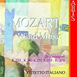 W.A. Mozart: Music for Wind Musics - Vol. 2