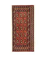 Eden Carpets Alfombra Yamut Rojo/Multicolor 135 x 60 cm