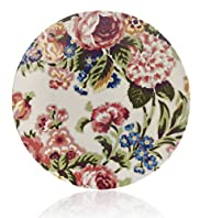 Country Garden Floral Dinner Plate